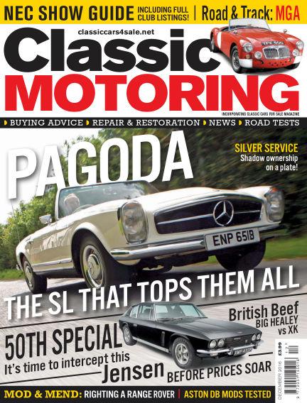 Classic Motoring November 04, 2016 00:00