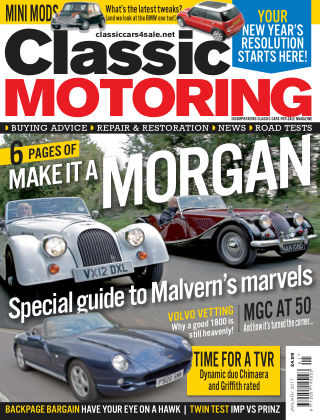 Classic Motoring January 2017