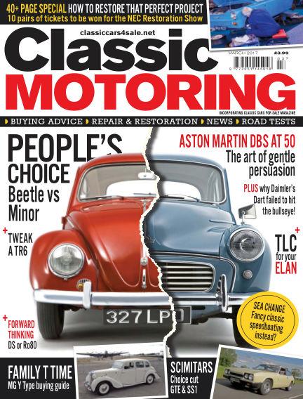 Classic Motoring February 03, 2017 00:00