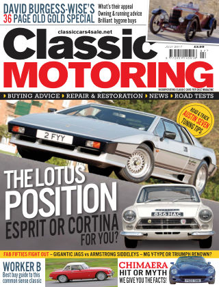 Classic Motoring July 2017