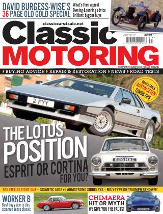 Classic Motoring July 2017