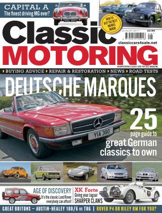 Classic Motoring August 2017