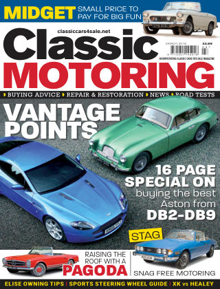 Classic Motoring March 2018