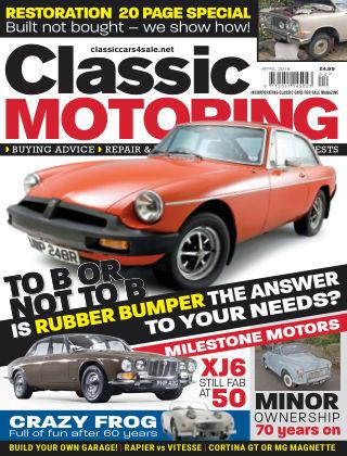Classic Motoring April 2018