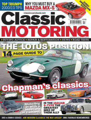Classic Motoring July 2018