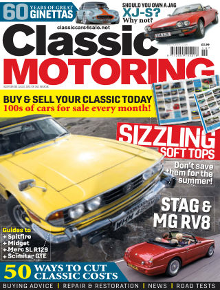 Classic Motoring October 2018