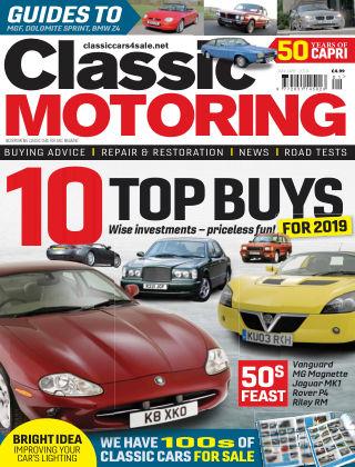Classic Motoring January19