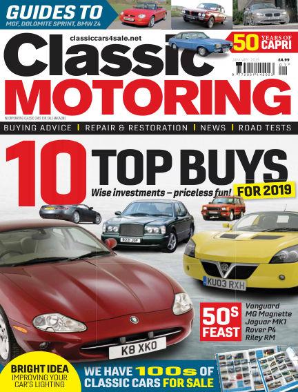 Classic Motoring December 07, 2018 00:00