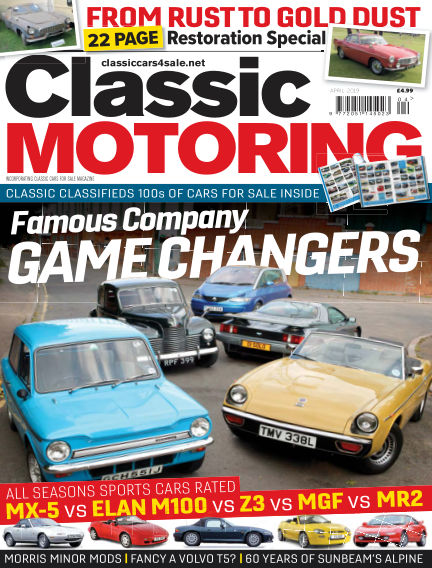 Classic Motoring March 01, 2019 00:00