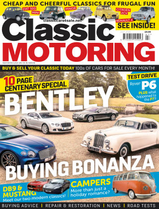 Classic Motoring July 2019