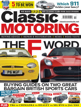 Classic Motoring October2019