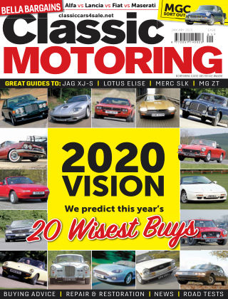 Classic Motoring January 2020