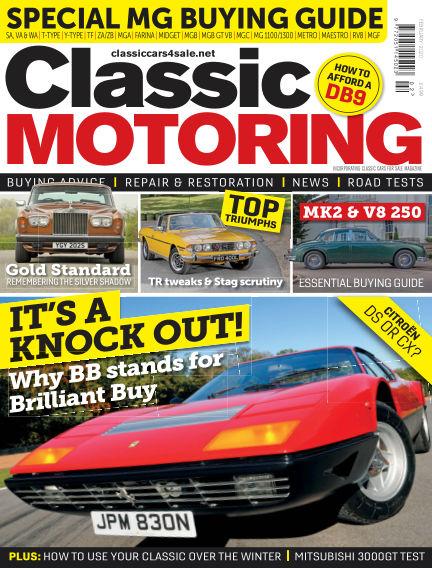Classic Motoring January 03, 2020 00:00