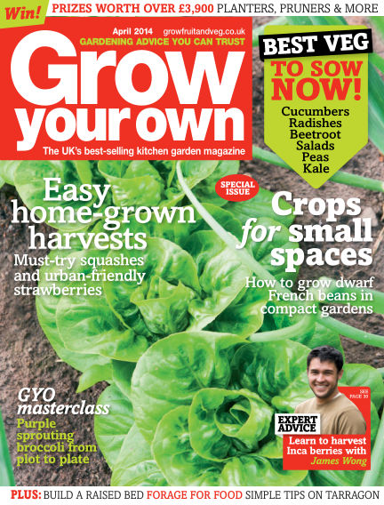 Grow Your Own March 07, 2014 00:00
