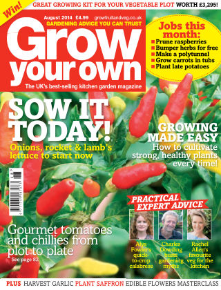 Grow Your Own August 2014