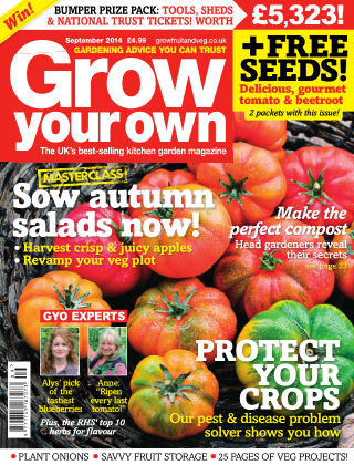 Grow Your Own September 2014