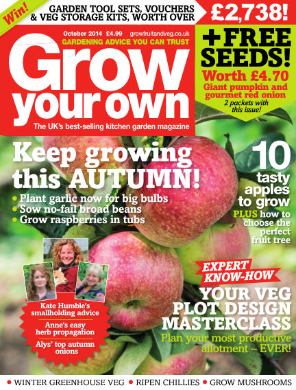 Grow Your Own September 05, 2014 00:00