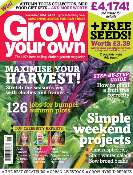 Grow Your Own October 03, 2014 00:00