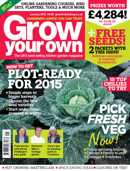 Grow Your Own December 05, 2014 00:00