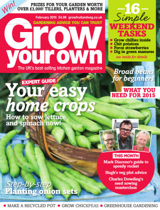 Grow Your Own February 2015