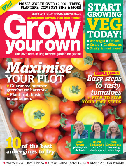 Grow Your Own February 06, 2015 00:00