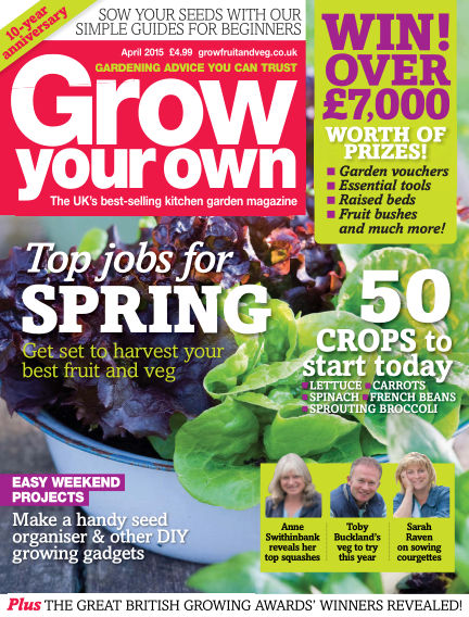 Grow Your Own March 06, 2015 00:00