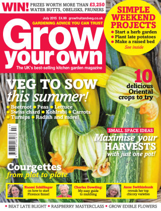 Grow Your Own July 2015