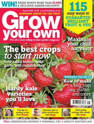 Grow Your Own August 2015