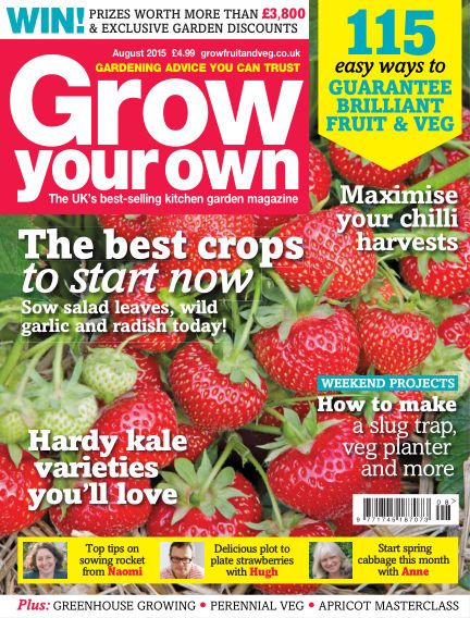 Grow Your Own July 03, 2015 00:00