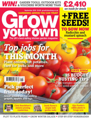Grow Your Own September 2015