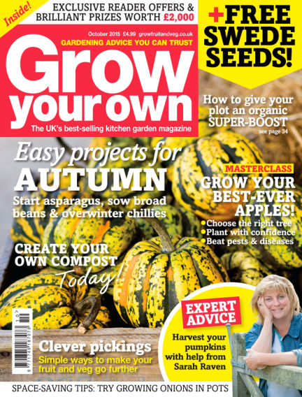 Grow Your Own September 04, 2015 00:00