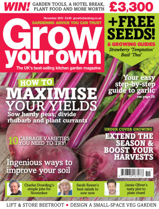 Grow Your Own November 2015