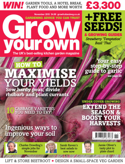 Grow Your Own October 02, 2015 00:00
