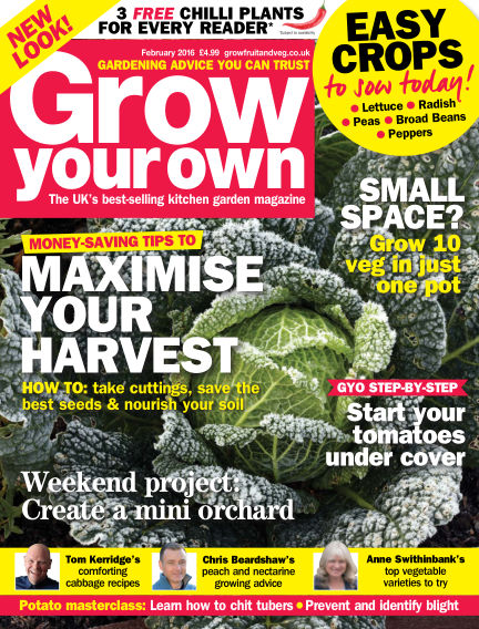 Grow Your Own December 31, 2015 00:00