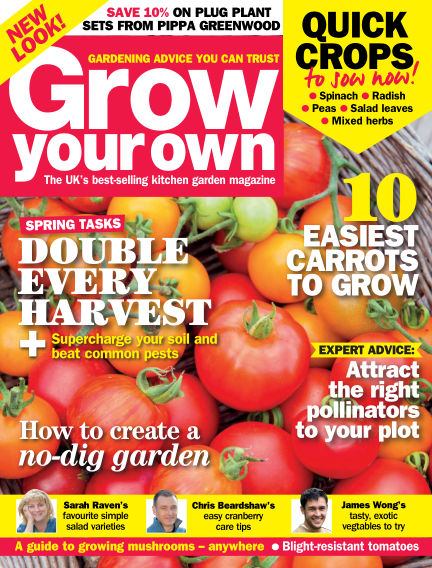 Grow Your Own February 05, 2016 00:00