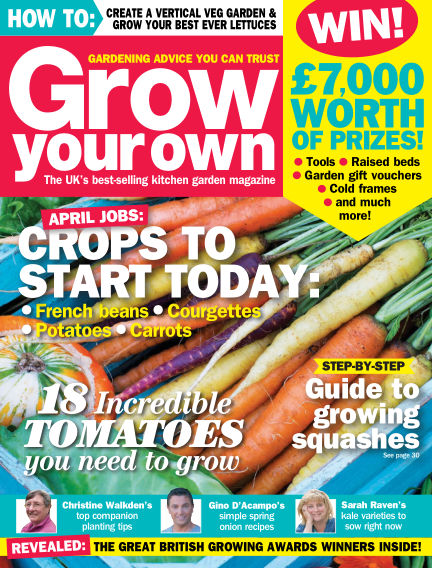 Grow Your Own March 04, 2016 00:00