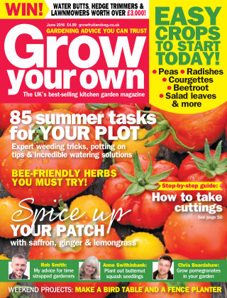 Grow Your Own June 2016