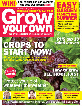 Grow Your Own July 2016