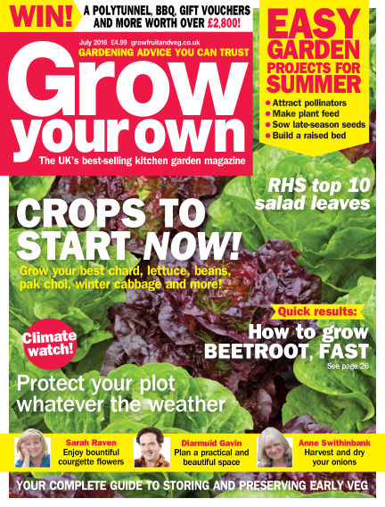 Grow Your Own June 03, 2016 00:00