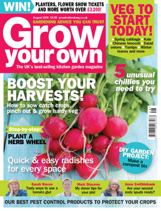 Grow Your Own August 2016