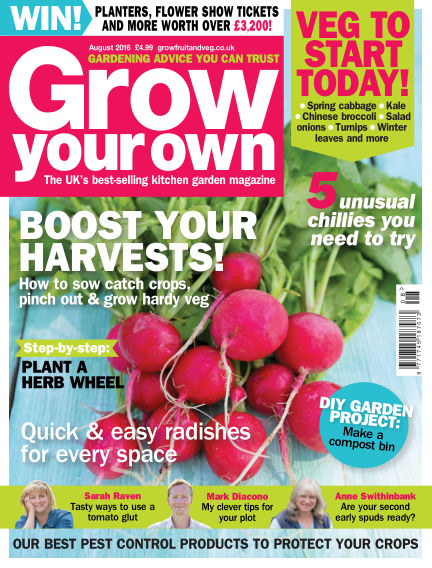 Grow Your Own July 01, 2016 00:00