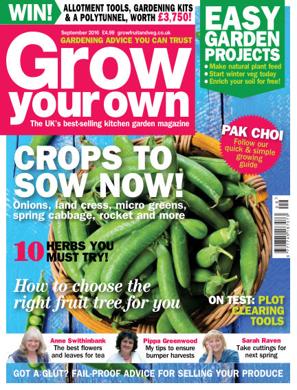 Grow Your Own August 05, 2016 00:00