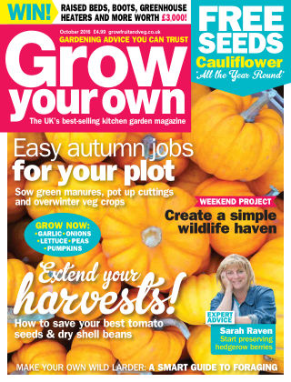 Grow Your Own October 2016