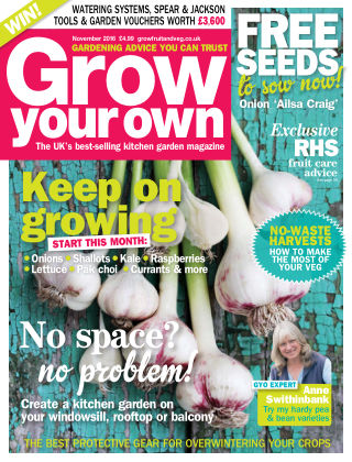 Grow Your Own November 2016