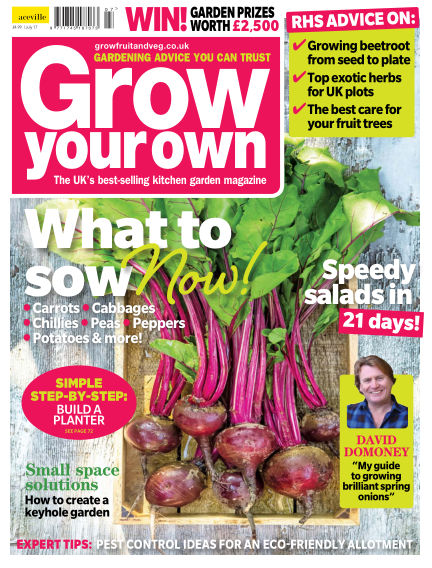 Grow Your Own June 02, 2017 00:00