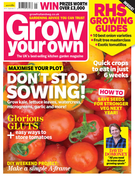 Grow Your Own August 04, 2017 00:00