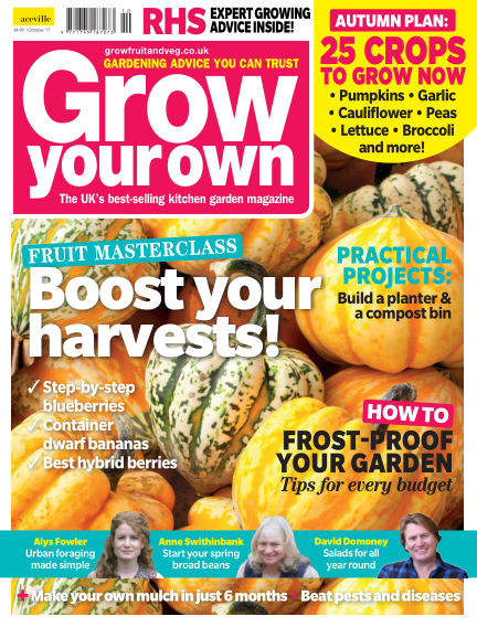 Grow Your Own September 01, 2017 00:00