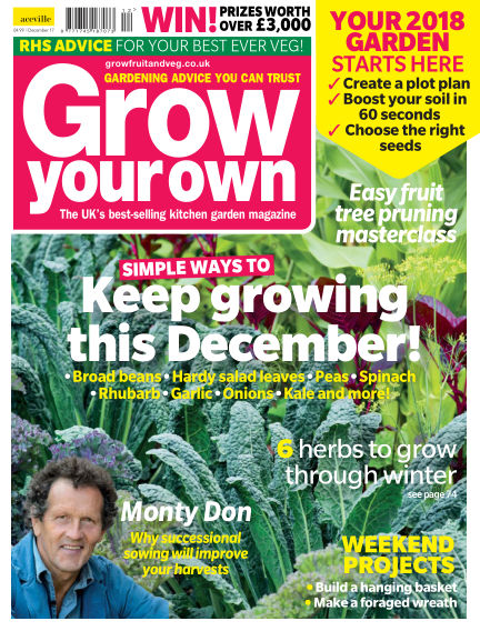 Grow Your Own November 03, 2017 00:00