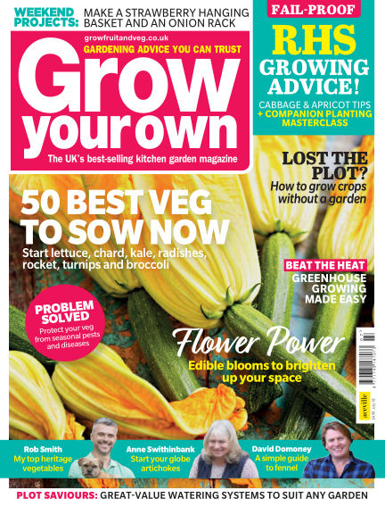 Grow Your Own June 07, 2018 00:00