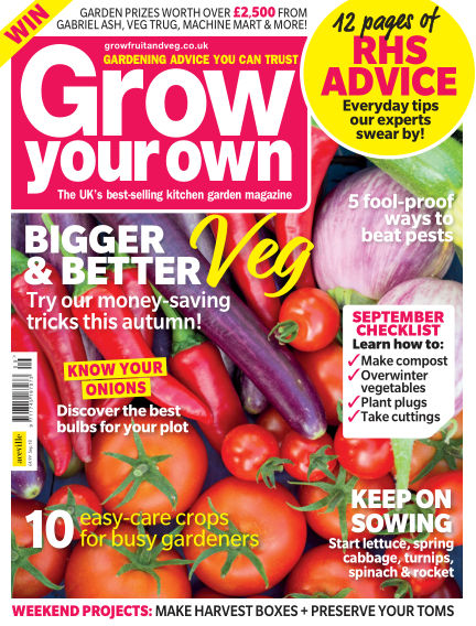 Grow Your Own August 02, 2018 00:00